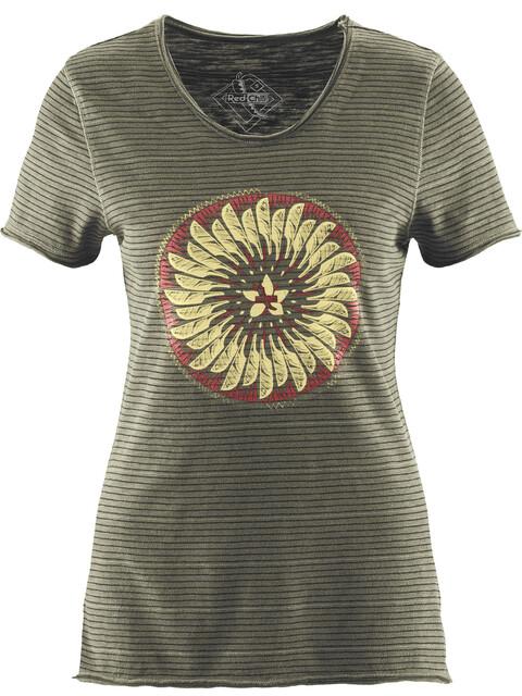 Red Chili Horda Naiset Lyhythihainen paita , oliivi